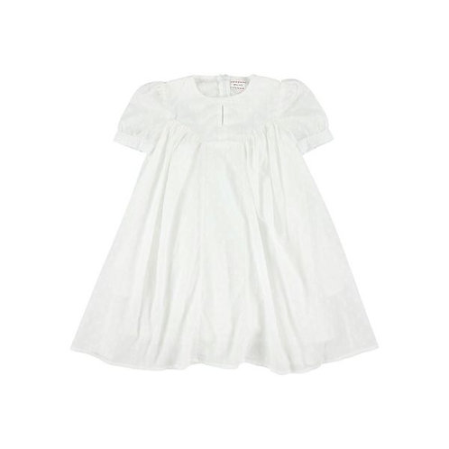 Noella dots white/beth sky dress