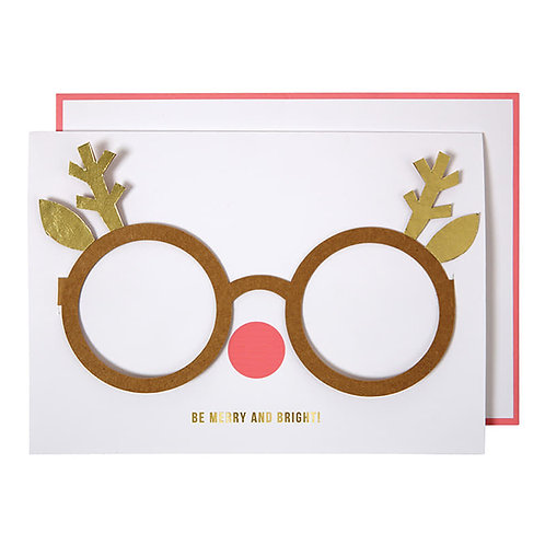 Christmas accessories card