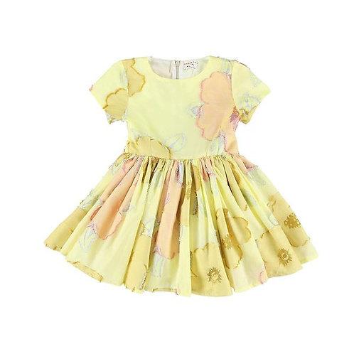 Jelsa marygold gold dress