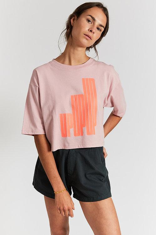 Jimena up graphic printed t-shirt