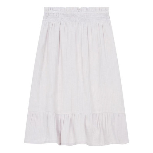 Cheesecloth long skirt
