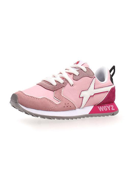 Sneaker pink-white