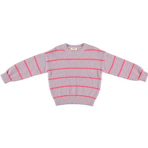 Pesce knitted striped jumper