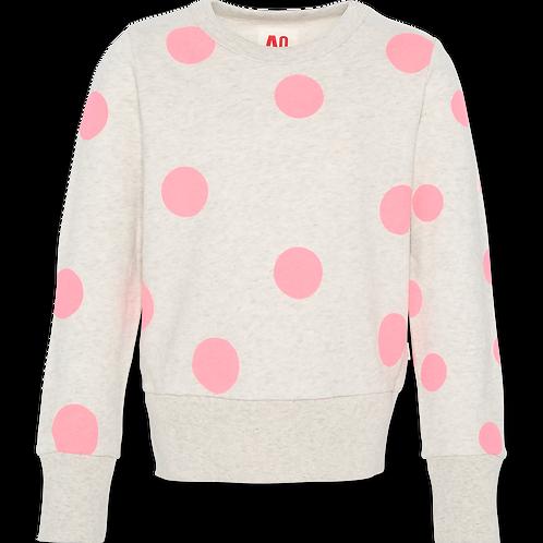 C-neck sweater dots