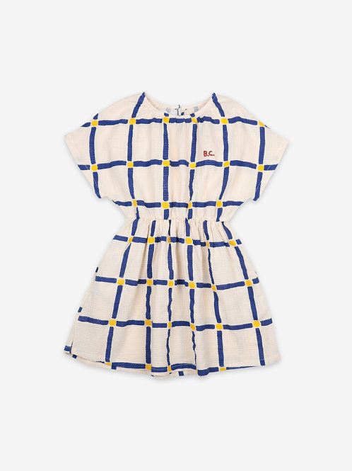 Cube all over dress