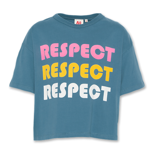 T-shirt oversized respect