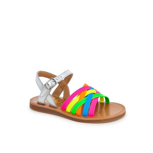 Sandal plagette lux