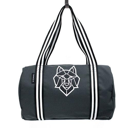 Weekend bag loup gris