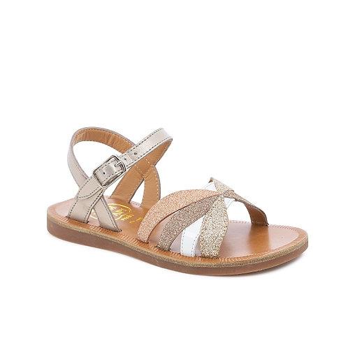 Sandal plagette reverse