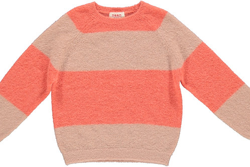 Vans knitted striped jumper