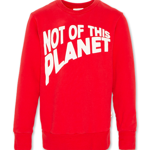 C-neck sweater planet