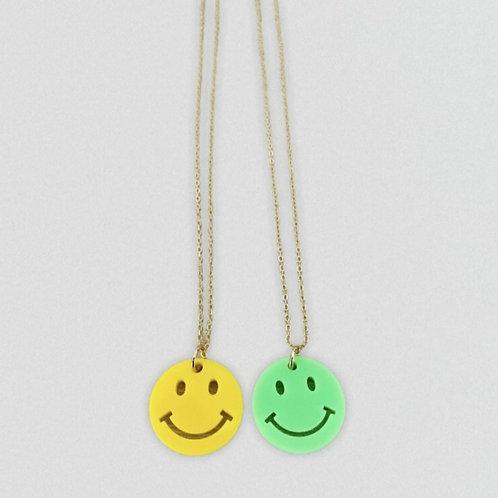 Necklace big smiley