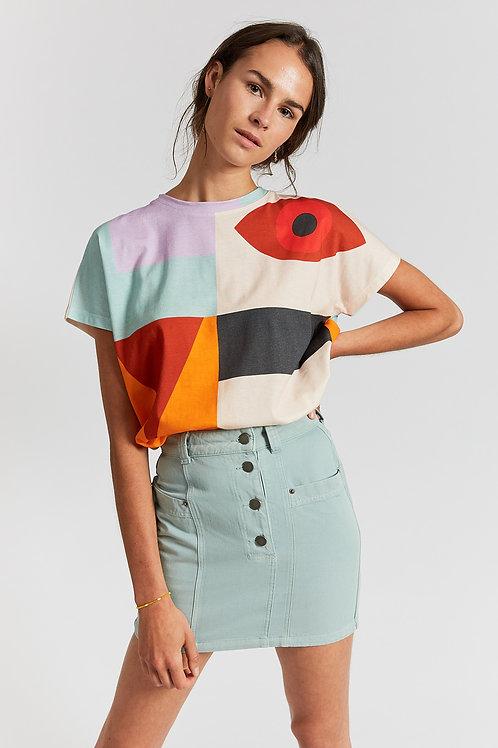 Jackson multi patterned t-shirt