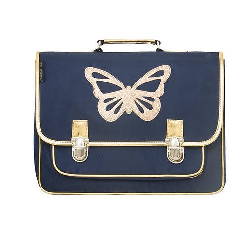 Cartable GM papillon bleu