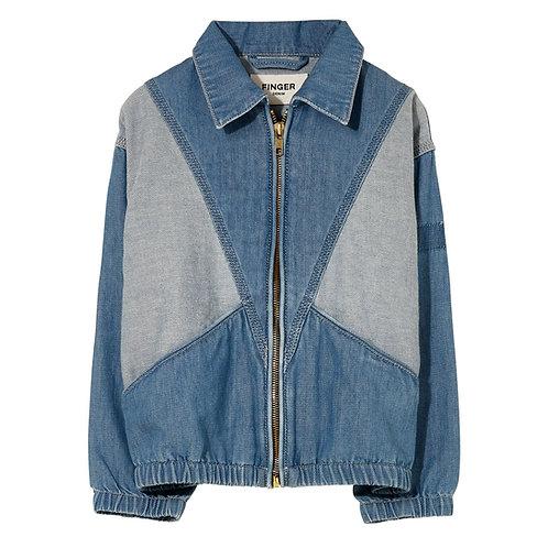 Flynn oversized fit denim jacket