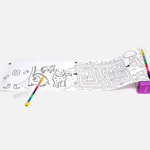 Pocket games & coloring