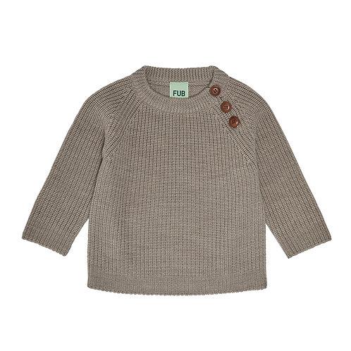 Baby rib sweater
