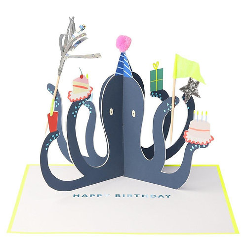 Birthday stand-up card