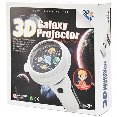 3D galaxy projector