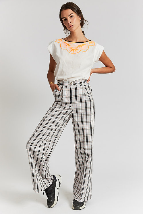 Jolo large trousers with elasticated waist