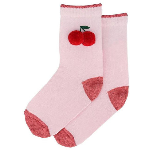 Cherry/ice cream socks