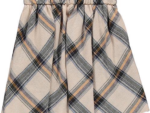City woven skirt