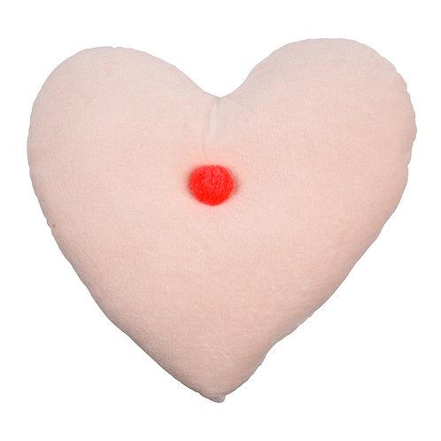 Heart/pompom/cloud/wink velvet cushion