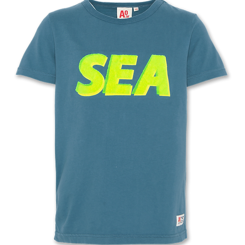 T-shirt c-neck sea