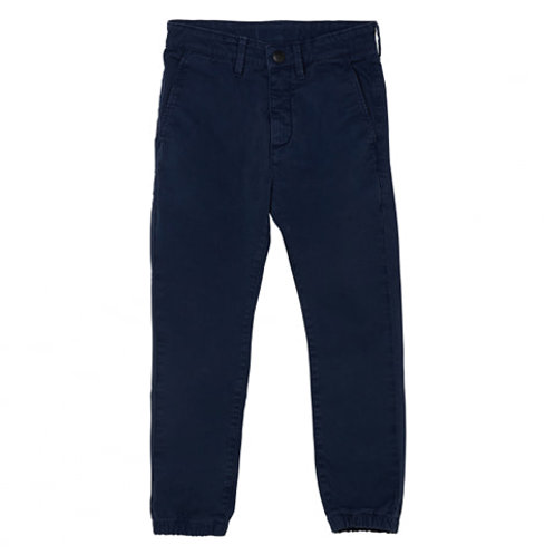 Skater elasticated bottom chino fit jeans