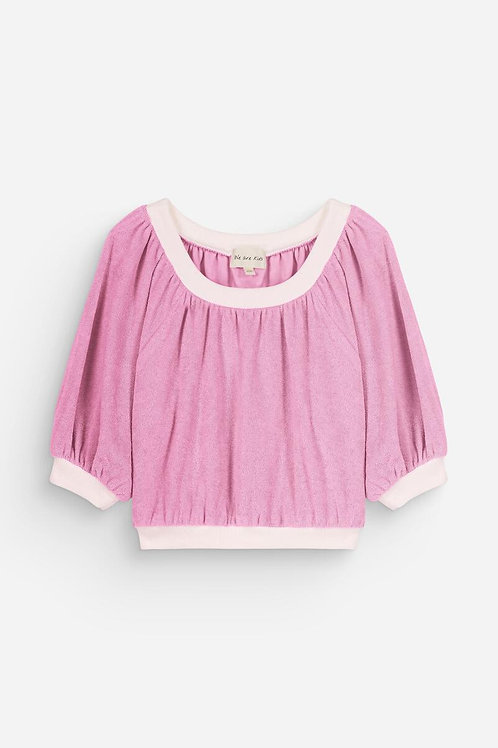 Maguy lilac top