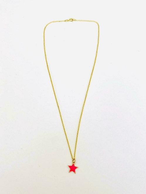 Star/habibi star necklace