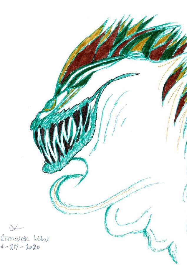 Many-Necked Spiky Head