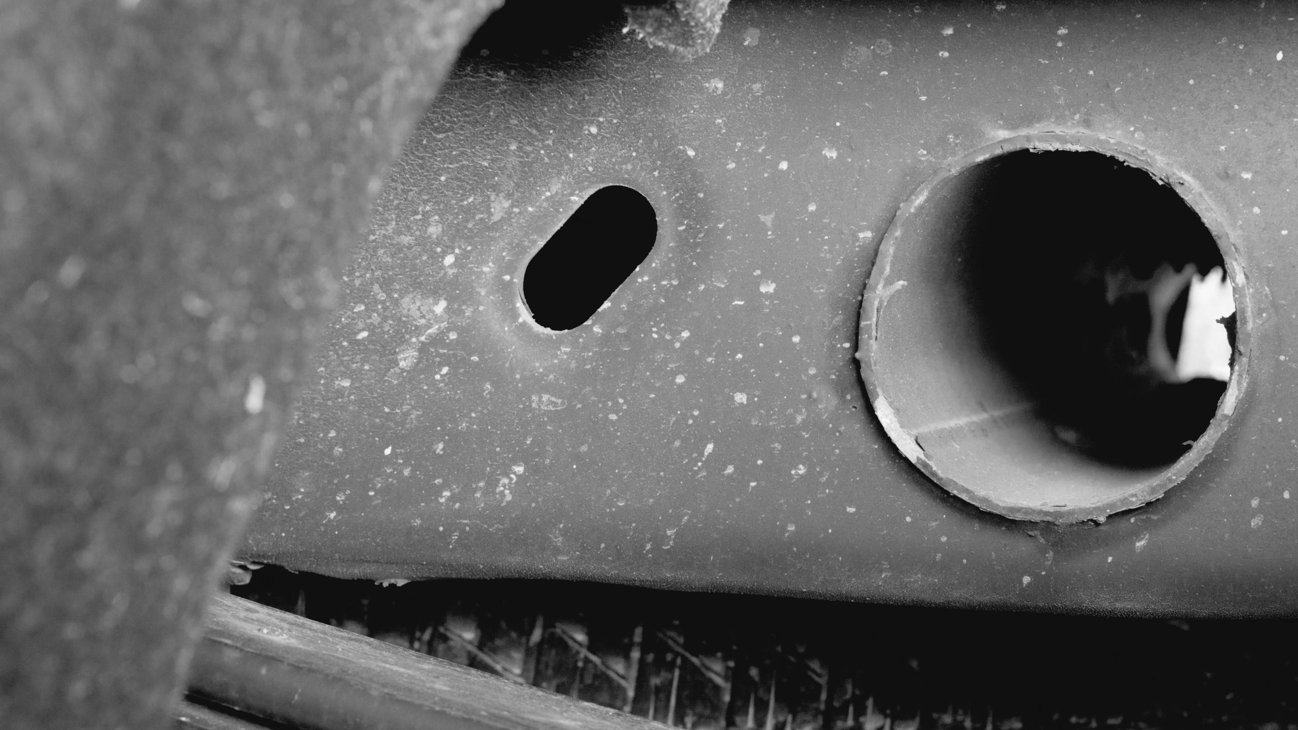 Friday's Tears | Hole 2 Heavy | A modern art photograph called Hole 2 Heavy