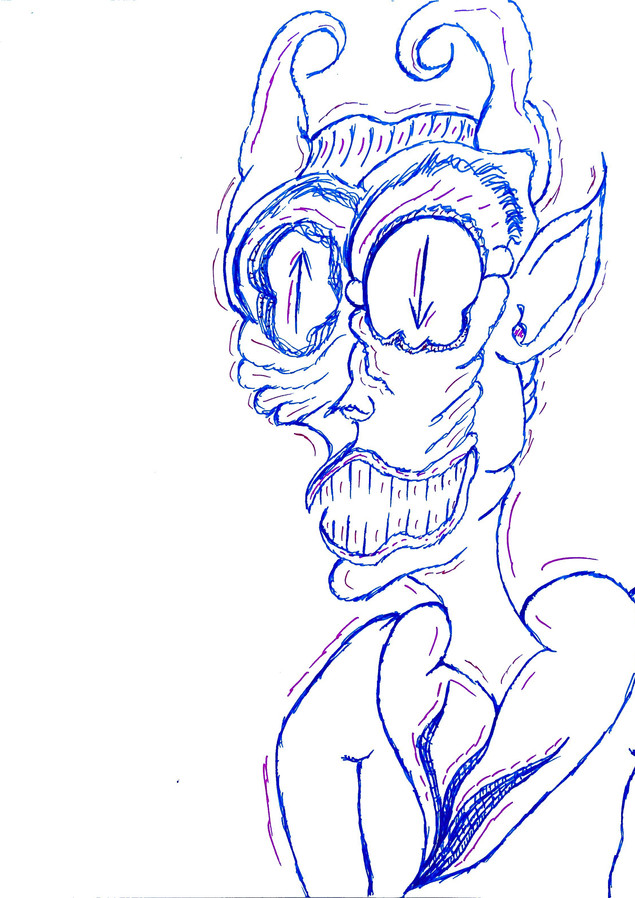 Purpl-y, Wrinkly Devil