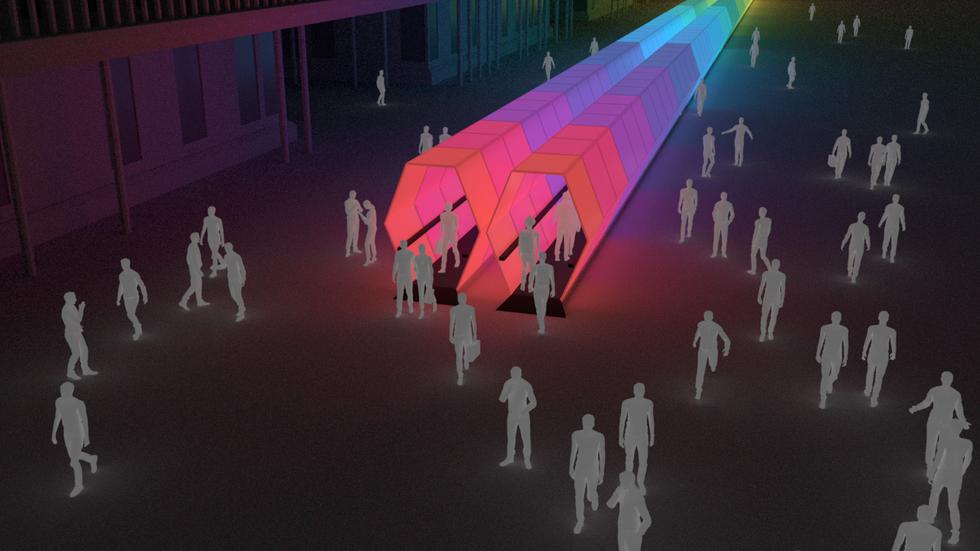 Hexagonal LED Tube