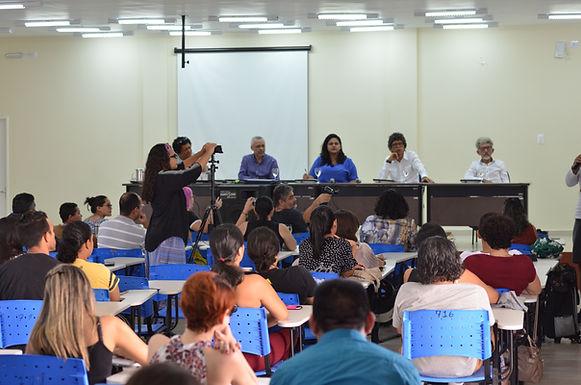 Trio Roraimeira e George Farias discutem sobre cultura local em 2º encontro de Literatura em Roraima