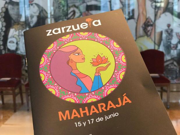 """ZARZUELA """"MAHARAJÁ"""""""