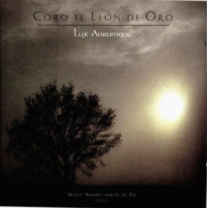"""GRABACIONES CON EL CORO """"EL LEÓN DE ORO"""""""