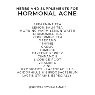 Hormonal Acne Series
