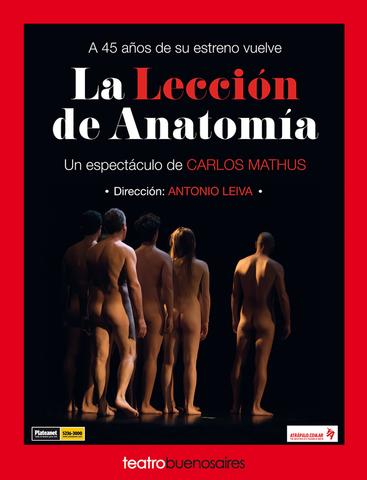 La lección de anatomía - 2017