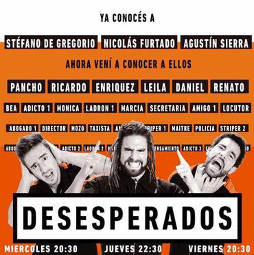 Desesperados - 2017