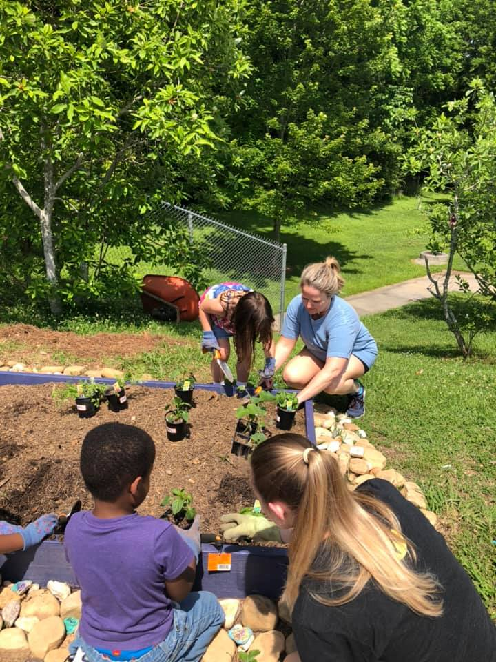 McCall Elem Planting 2