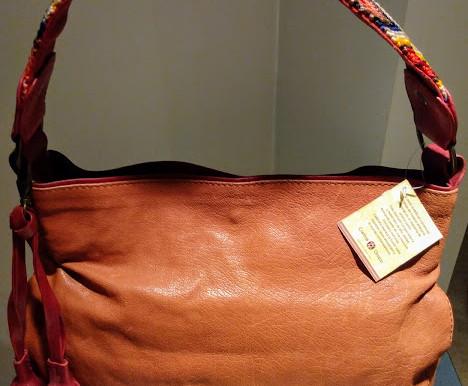 Cristina Orozco Leather Hobo Purse ~ New