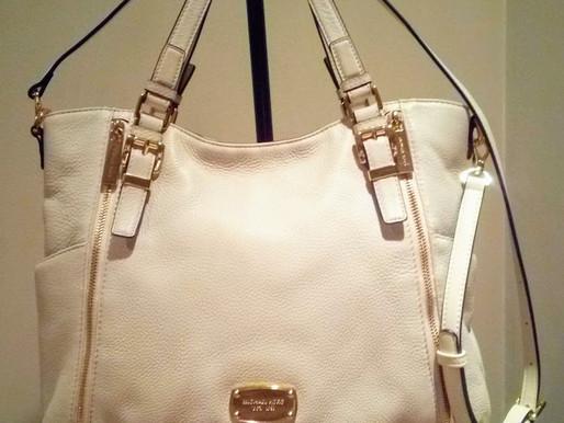 Michael Kors Leather Convertible Satchel