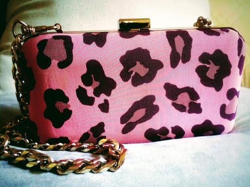 Kurt Geiger Vintage Leopard Clutch