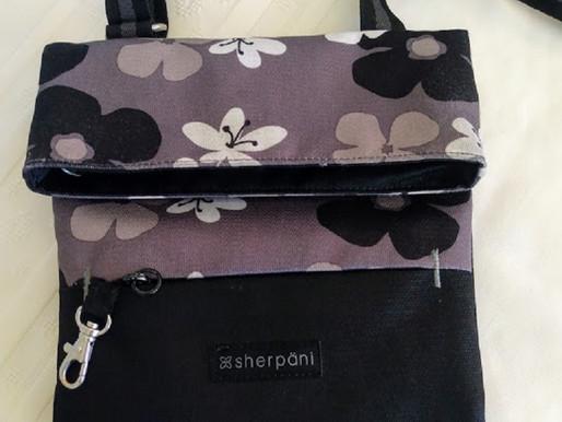 "Sherpani ""Aloha Pica"" Nylon Cross Body Bag"