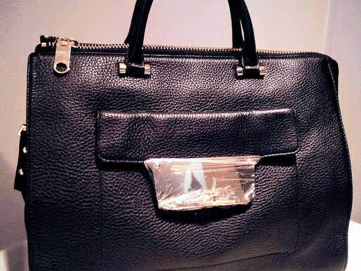 Milly 'Isabella' Leather Satchel  ~ New