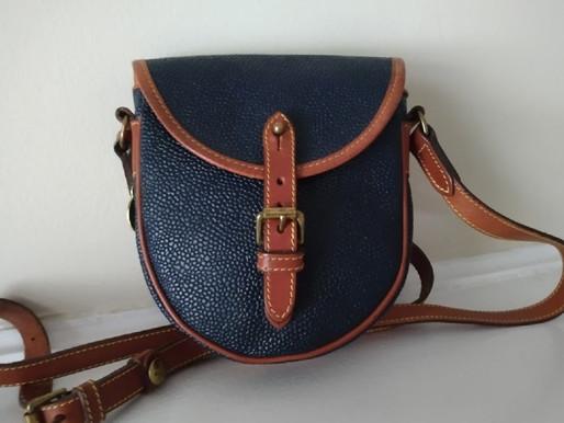 Mulberry Vintage Leather Saddle Crossbody