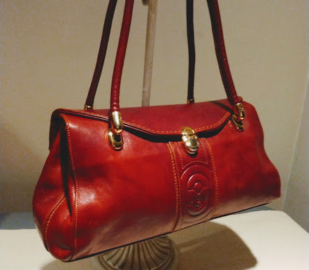 Marino Orlandi Vintage Leather Satchel