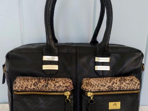Velez Leather Shoulder Tote & Matching Wallet